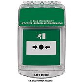 STI ALARMES INCENDIES _ Couvercle de protection d'alarme VISIO PROTECT-EU DM