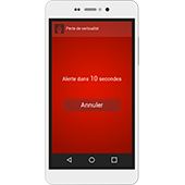 Solution PTI/DATI sur smartphone Android